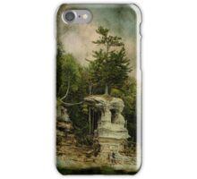 Chapel Rock at Pictured rocks iphone case iPhone Case/Skin