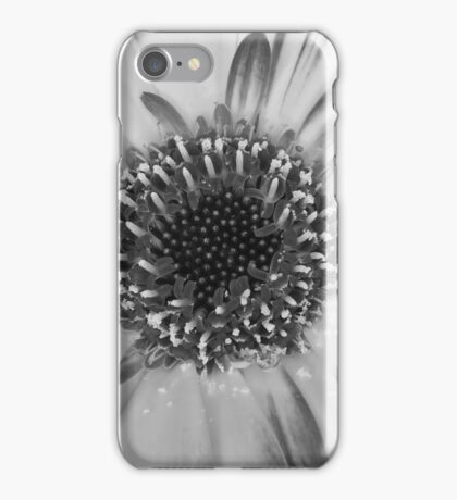 Challenge Entry /macro flower / BW iPhone Case/Skin