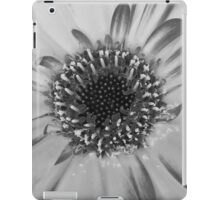 Challenge Entry /macro flower / BW iPad Case/Skin