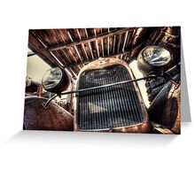 Cabin Cruiser Greeting Card