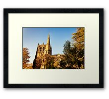 Ormskirk St. Peter and Paul Parish Church Framed Print