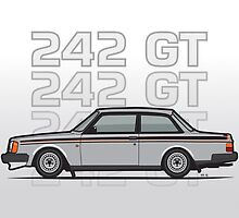Volvo 242 GT 200 Series Coupe by Tom Mayer