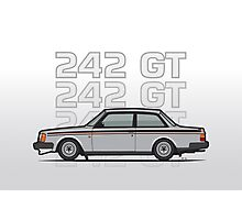Volvo 242 GT 200 Series Coupe Photographic Print