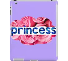 Flower princess of the roses iPad Case/Skin