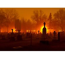 Walking Amongst The Dead Photographic Print