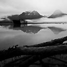 Old Valdz Townsight  - Alaska  by Melissa Seaback