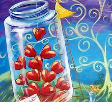 My Jar of Hearts by Ira Mitchell-Kirk