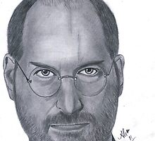 Steve Jobs by Bobby Dar