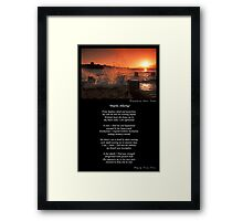 ~ Depths Alluring ~ A collaboration with Adriano Carrideo ~ Framed Print