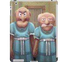 Muppet Maniac - Statler & Waldorf as the Grady Twins iPad Case/Skin