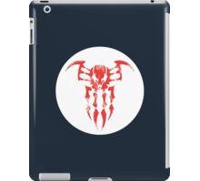 Spider-Man 2099 Segmented Logo (white) Circle iPad Case/Skin
