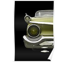 Classic Car (green) Poster
