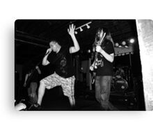Tank and Justin from EFTA Canvas Print