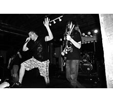 Tank and Justin from EFTA Photographic Print