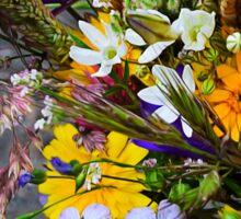 Wildflower Bouquet Sticker