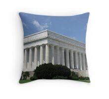 The Lincoln Memorial - Washington DC Throw Pillow
