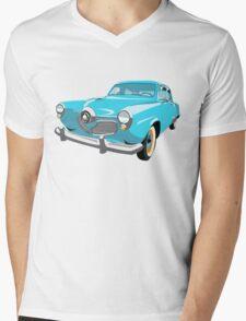 1951 Studebaker Commander - Bullet-Nose Mens V-Neck T-Shirt
