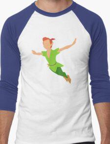 Peter Pan flying! Men's Baseball ¾ T-Shirt