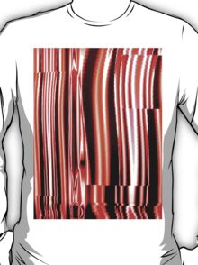 Red Distortion T-Shirt
