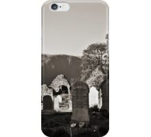 Two Hearts on Saint Kevin Cemetery iPhone Case iPhone Case/Skin