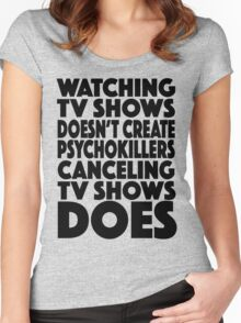 Tv Shows Women's Fitted Scoop T-Shirt