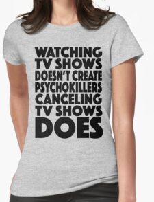 Tv Shows Womens Fitted T-Shirt