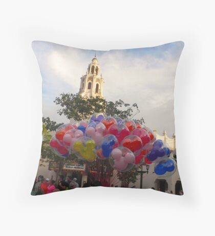 Carthay Circle Balloons Throw Pillow