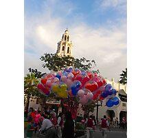Carthay Circle Balloons Photographic Print