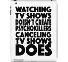 Tv Shows iPad Case/Skin