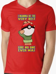 Pokemon - Be The Very Best Mens V-Neck T-Shirt