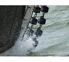 Shrimp fishing Photographic Print
