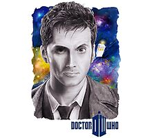Doctor Who No.10 - David Tennant 2 Photographic Print