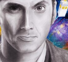 Doctor Who No.10 - David Tennant 2 Sticker