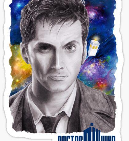 Doctor Who No.10 - David Tennant 2 Sticker