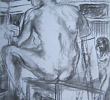 Life Drawing Class by Thea T
