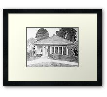 Old Sego Lily School Framed Print
