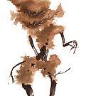 Zen Tree 396 Goblin Tree by Sean Seal