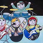 I'm with the band by Kelly Gatchell Hartley
