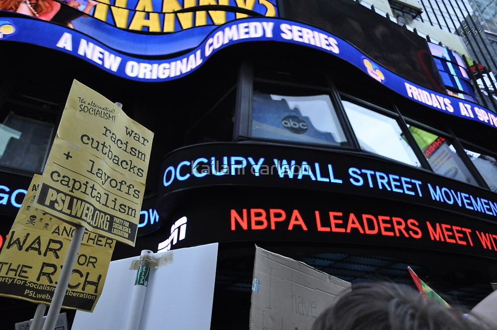 Occupy Wall Street Goes Worldwide October 15 2011  by MJD Photography  Portraits and Abandoned Ruins