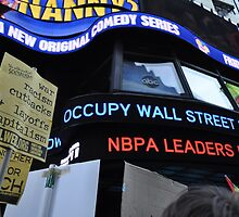 Occupy Wall Street Goes Worldwide October 15 2011  by kailani carlson