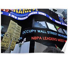 Occupy Wall Street Goes Worldwide October 15 2011  Poster