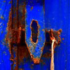 Moroccan Rust III [Print &amp; iPad Case] by Damienne Bingham