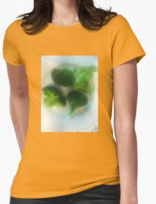 We Have a Little Garden Womens Fitted T-Shirt