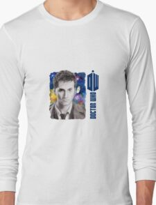 David Tennant Doctor Who D/S Mug Long Sleeve T-Shirt