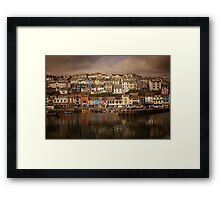 Harbour Reflections Framed Print