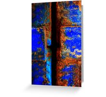 Moroccan Rust II Greeting Card
