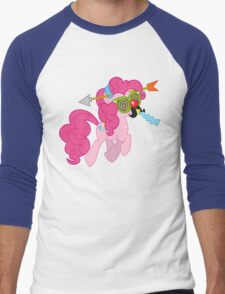 Pinkie Pie haters gonna hate Men's Baseball ¾ T-Shirt