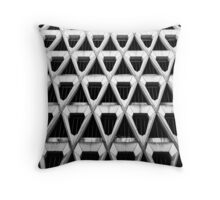 Concrete Facade Throw Pillow