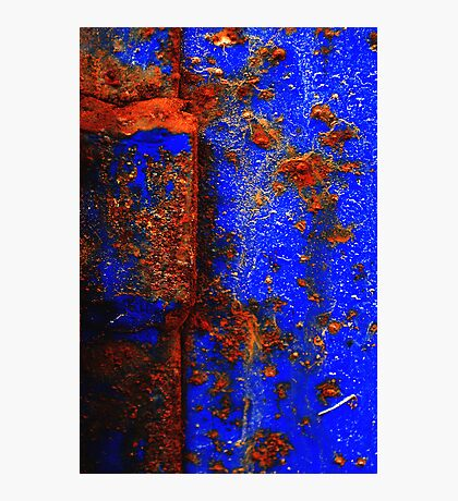 Moroccan Rust I Photographic Print
