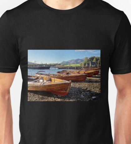 """Derwent Water Shoreline"", Cumbria, UK Unisex T-Shirt"